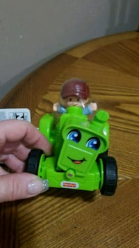 Fischer price lil people tractor
