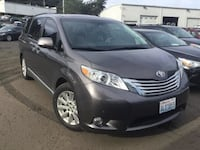 2013 Toyota Sienna Limited V6 CARFAX Third Row Seats Leather Minivan Vancouver, 98662