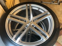20 inch rims and tires  Round Hill, 20141