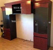 Solid Wood Cabinet - Serious Buyers Only