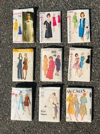 60's Ladies Dress Patterns by Simplicity, Vogue & McCall's Washington, 20003