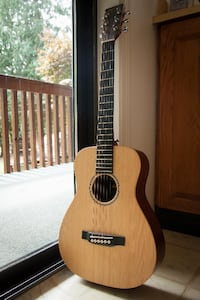 LX1 Little Martin Small Travel Acoustic Guitar DUNCAN