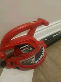 red and black Homelite leaf blower Mississauga, L5B 1L1