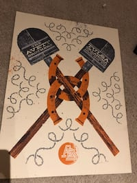 The Avett Brothers limited edition poster Broken Arrow, 74012
