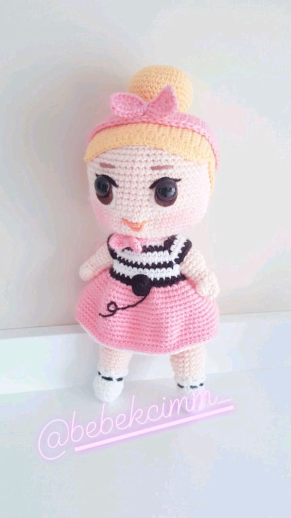 Toy Art Amigurumi Lol Surprise Doll | Amigurumi | Crochet | 1067x600