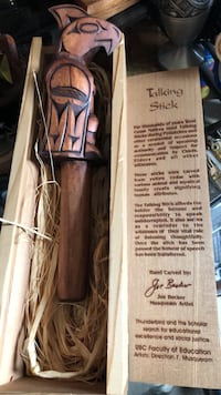 Really cool hand carved talking stick Calgary, T2Y 2W5