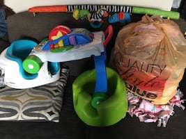 Baby toys, baby bumbo seat, baby walker