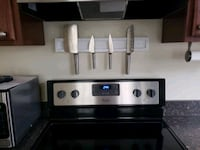 Custom made magnetic knife shelf Hagerstown
