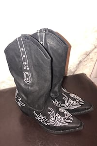 Boots - Ropers - size 12 girls Smyrna, 37167