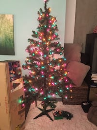 6 1/2 ft artificial Christmas tree