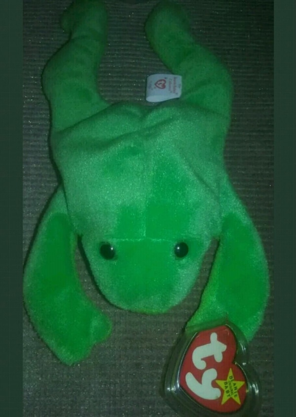 Used Ty Beanie Baby LEGS the Frog - Style  4020 f015140f3c72