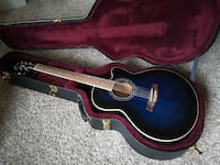 ALL INCLUDED ACOUSTIC ELECTRIC GUITAR, CASE, STAND, CAPOS, GUITAR CHOR Calgary