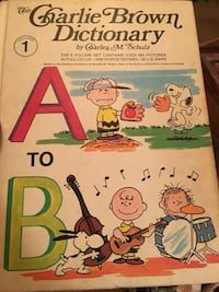 The charlie brown dictionary by charles m. schulz Columbia Heights, 55421