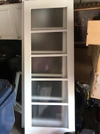 "Glass sliding doors  28 3/4"" x 78 3/4"" $80 each solid. Will take $140  Toronto, M6L 1P4"