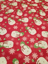 Christmas tree skirt or table cloth