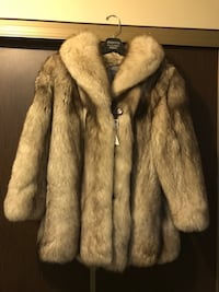 Authentic silver fox fur jacket imported from Hungary Edmonton, T6B