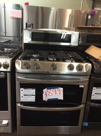 black and gray gas range oven Washington, 20024