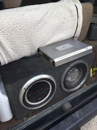 Subwoofers amp and box Richmond, 23225