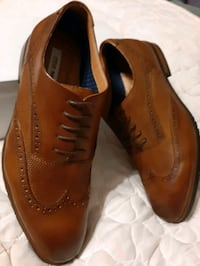 New - Mens Steve Madden Wingtip shoes RUBBER SOLES size 10 Manchester