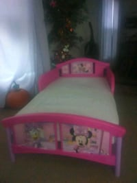 baby's pink and white plastic bed frame Bloomington, 61704