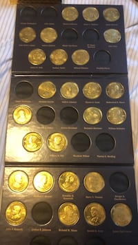 presidential coins Riverdale, 20737