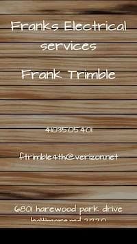 Frank's ELECTRICAL And Home Improvements Middle River, 21220