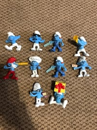 Collection Of Smurf Characters Oakville, L6L 5E5