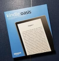 Brand-new Kindle Oasis 32Gb (9th-Gen) LTE Cellular version w/ extras McLean