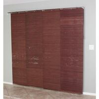 Privacy Panel Sliding Shades (Mahogany) New York, 10001