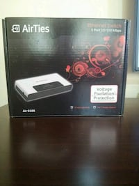 Airties Air 0105,5 port 10/100Mbps Ethernet Switch Huzurevleri Mahallesi, 01360