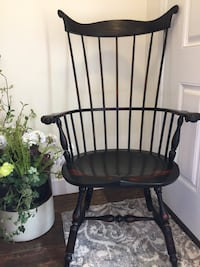DR Dimes Custom Hand Turned Windsor High-back Chair 67 mi