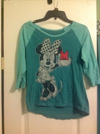 green Disney's Minnie Mouse elbow sleeve t-shirt Portsmouth, 23701