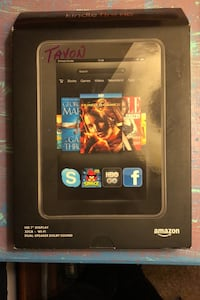 "Kindle Fire HD 7"" (2012 release) w/ two cases College Park, 20740"