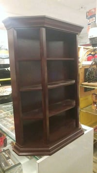 brown wooden 5-layer shelf Winnipeg