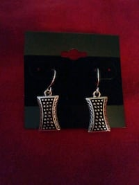 pair of silver-colored earrings West Melbourne, 32904