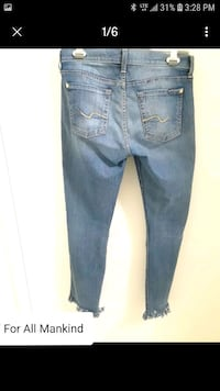 7 For All Mankind Jean Capris/Crops  Mississauga, L5L 5T2