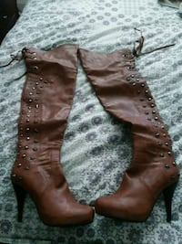 Size 8 thigh high boots. Barely worn Saint Paul, 55118