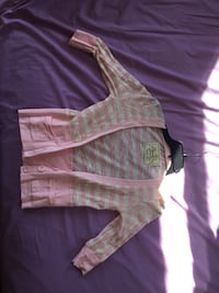 Pink & White/cream Cardigan  Reading, 19611