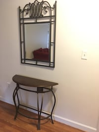 Console / Foyer table & Mirror