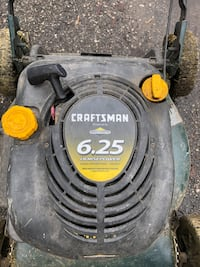 craftsman 6.25 gas mulcher lawnmower high powered