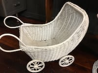 Antique baby doll buggy Monroe