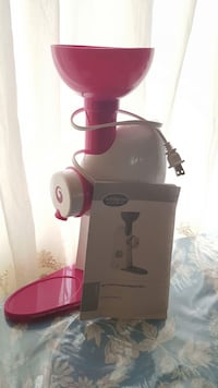 Mix n twist ice cream & toppings mixer