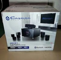 Cayman Media Labs HD-51 5.1 Bluetooth Home Theater Chicago