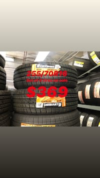 255/70R16 SET OF 4 TIRES ON SALE WE CARRY ALL BRAND AND SIZES WE FINANCE NO CREDIT NEEDED  Lafayette