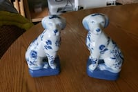 Pair of Dog Figurines  Vancouver, V6Z 1Z7