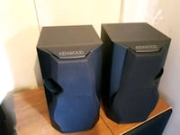 two black and blue speakers London, N6L 0B4