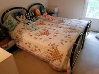 2 twin brass beds Silver Spring, 20904