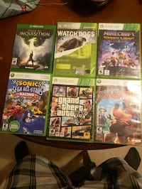Xbox 360 game and 1 xbox one game Belleville, K8P 4N2
