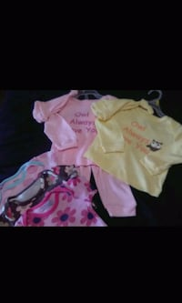 Brand new girls 6-9 months clothing lot for $6.00 Spartanburg, 29303