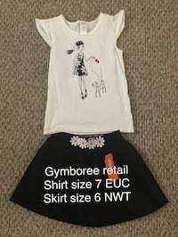 Gymboree outfit size 6/7 West Manchester, 17408